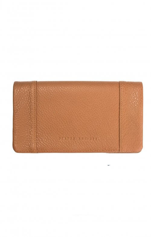 status anxiety some type of love wallet tan