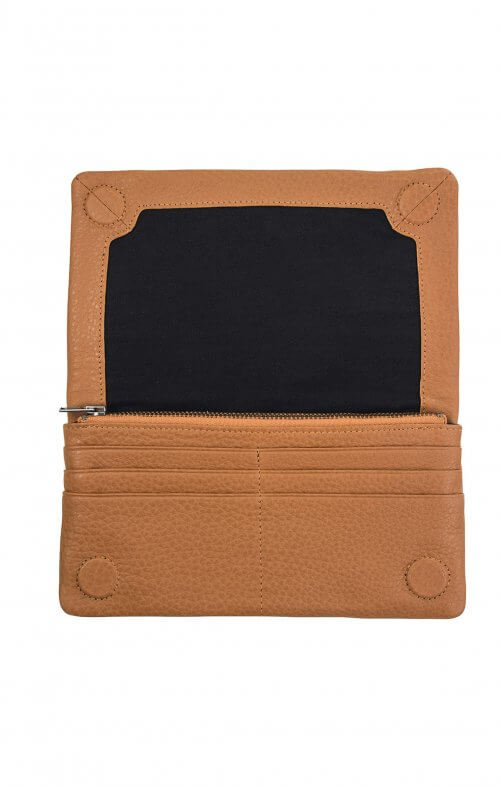 status anxiety some type of love wallet tan4