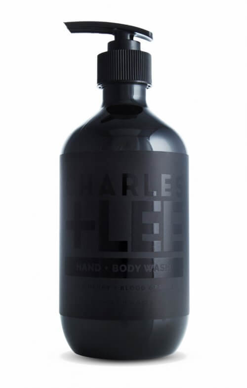 charles + lee hand body wash men