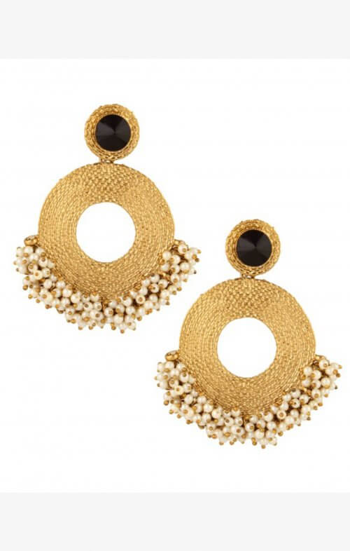 lazurah talulah earrings gold