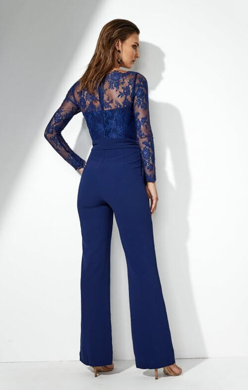 miss holly heidi pantsuit navy lace2