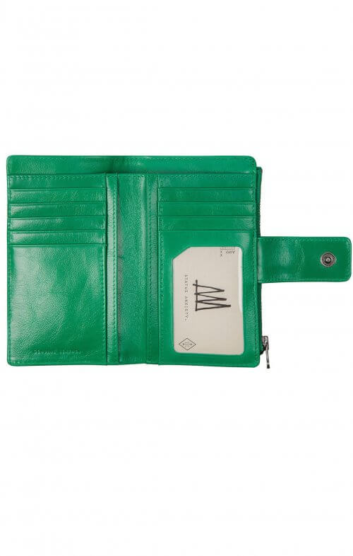 status anxiety outsider wallet emerald4