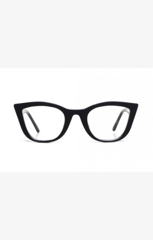 valley ludwig black gloss optical glasses