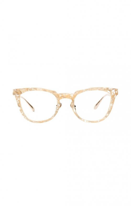 valley reissue optical glasses peach pearl