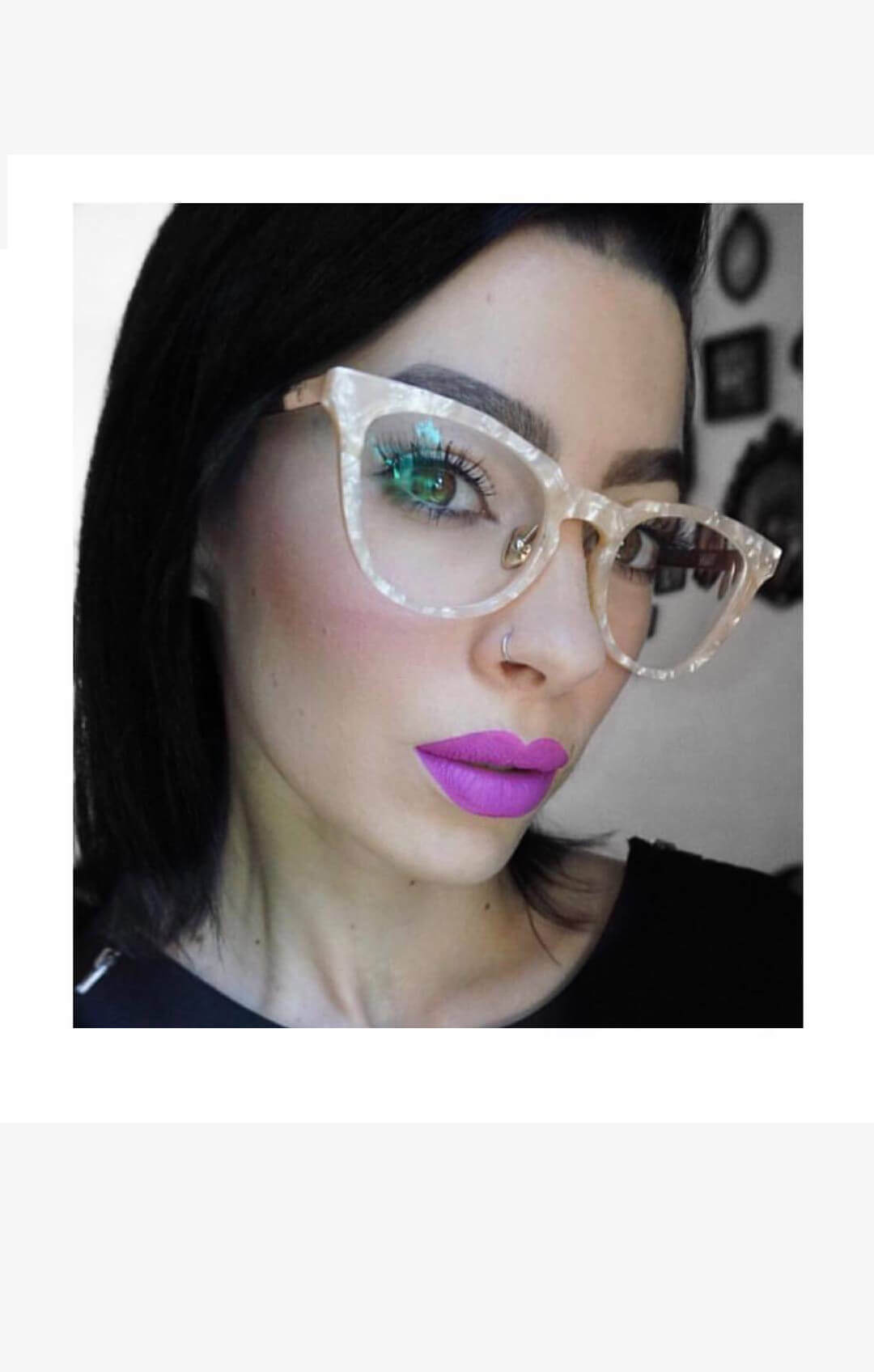501fab13ea2e5 valley reissue optical glasses peach pearl · Home   Shop ...