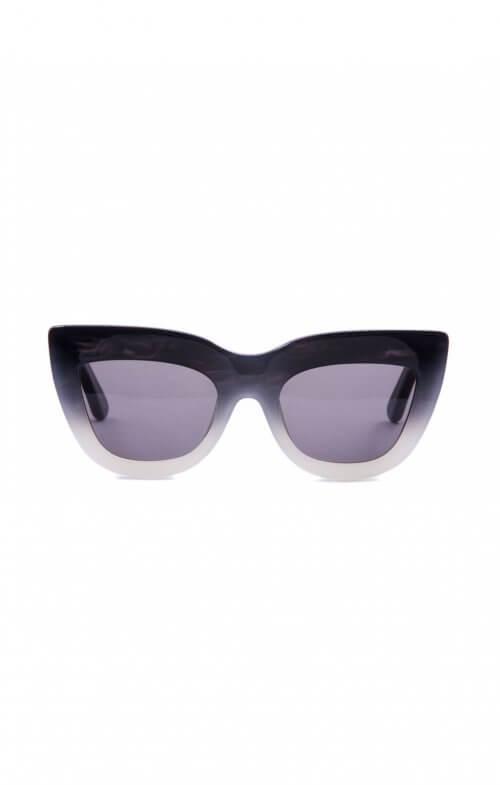 valley marmont sunglasses coal black to white fade