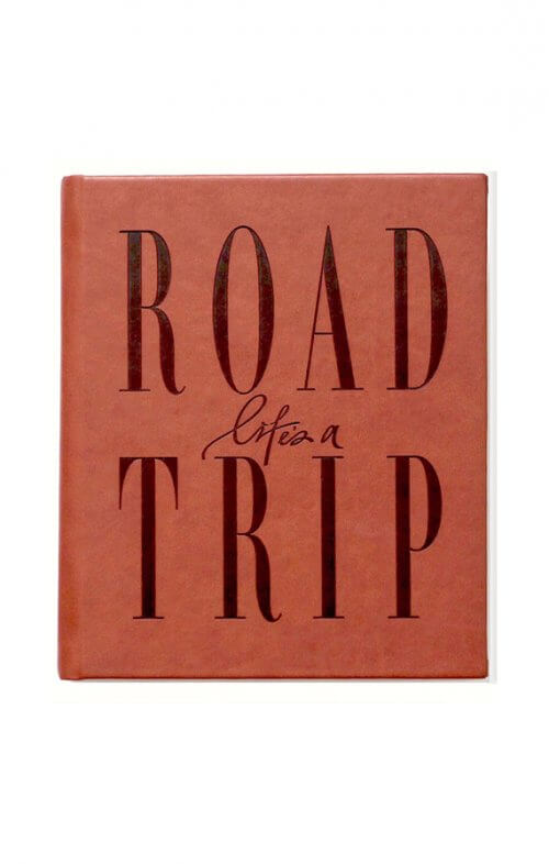 axel and ash lifes a road trip journal tan