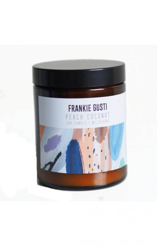 frankie gusti honeys little candle peach coconut