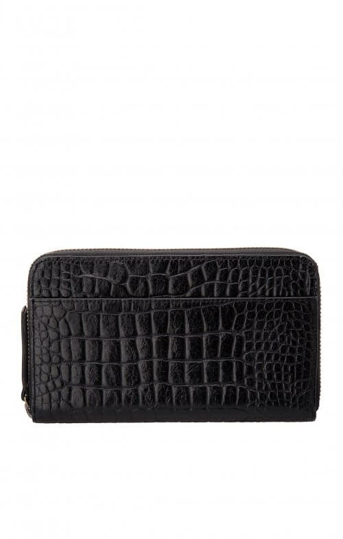status anxiety delilah wallet black croc