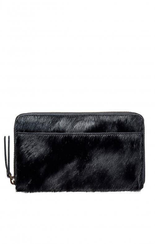 status anxiety delilah wallet black fur