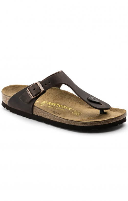 birkenstock gizeh habana leather