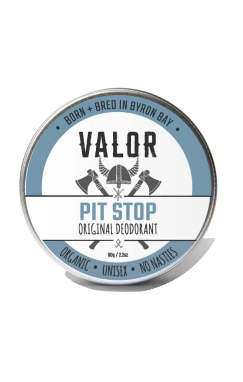 SHAVE WITH VALOR PIT STOP DEODORANT ORIGINAL