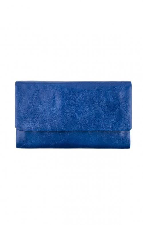 status anxiety audrey wallet royal blue