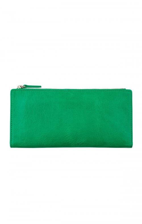status anxiety dakota wallet emerald