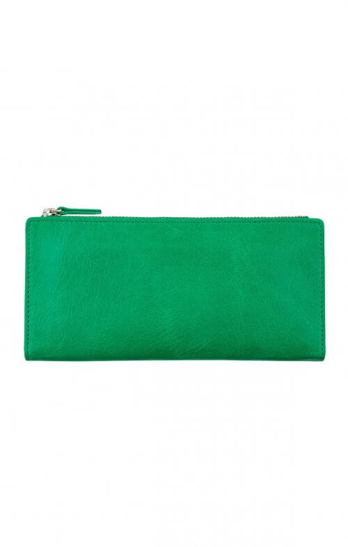 status anxiety dakota wallet emerald