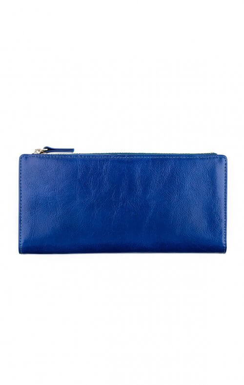 status anxiety dakota wallet royal blue