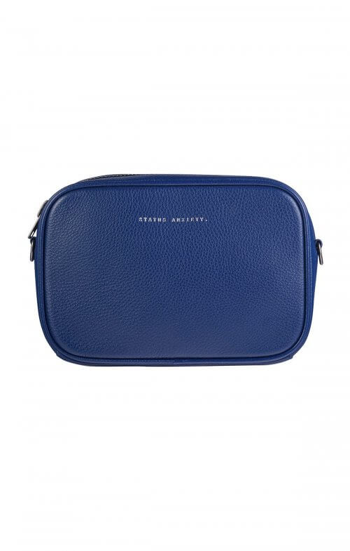 status anxiety plunder bag blue