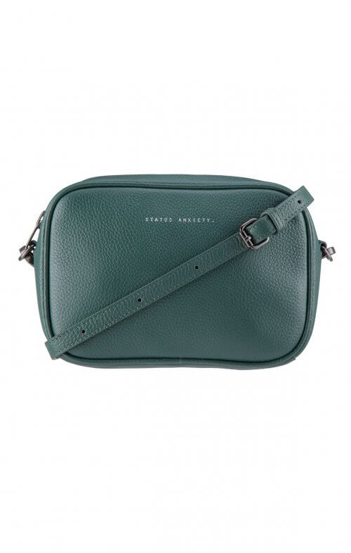 status anxiety plunder bag green