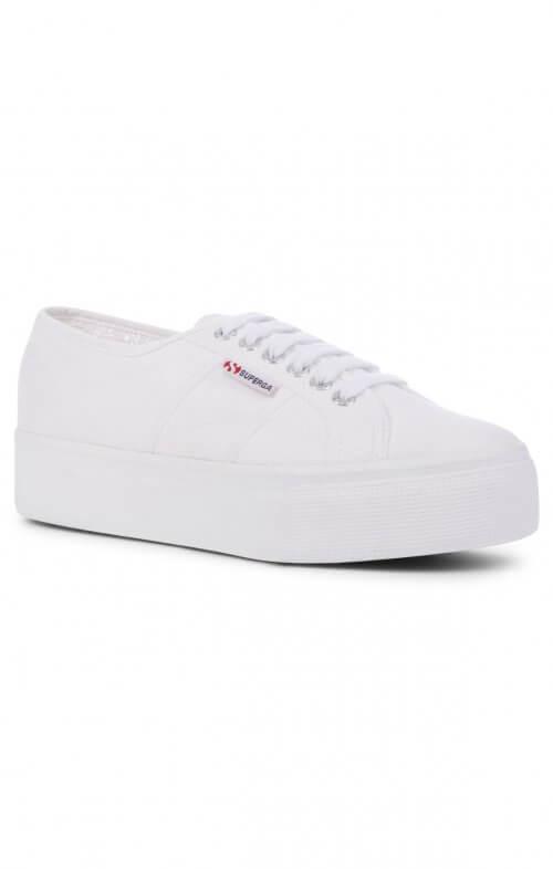 superga linea white