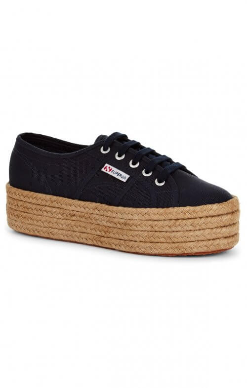superga rope navy