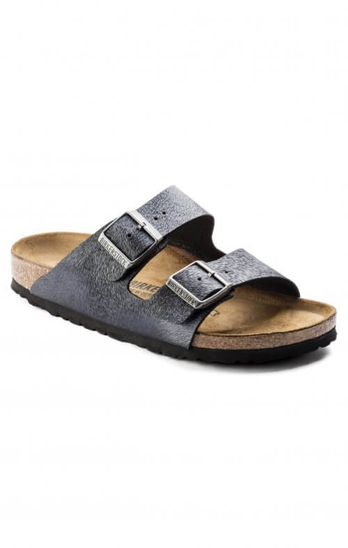 birkenstock arizona animal fascination slate