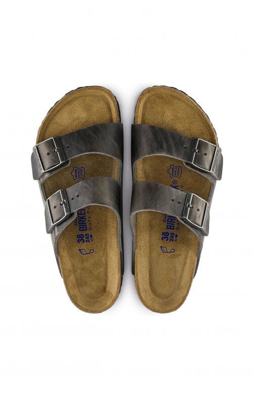 birkenstock arizona iron leather2