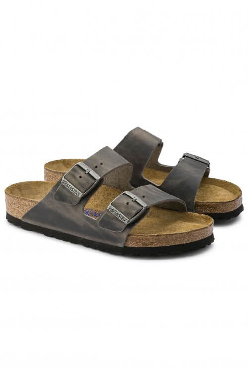 birkenstock arizona iron leather5