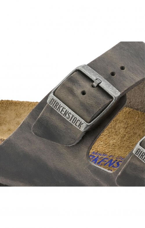 birkenstock arizona iron leather6