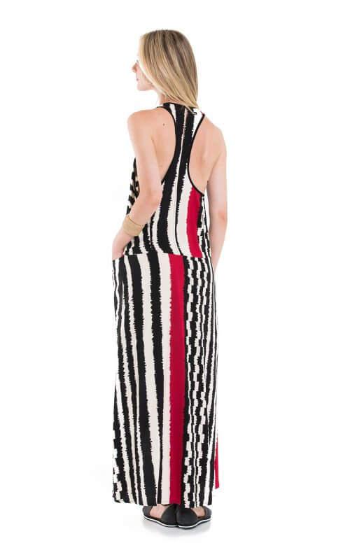 totem sierra maxi dress namibila red2