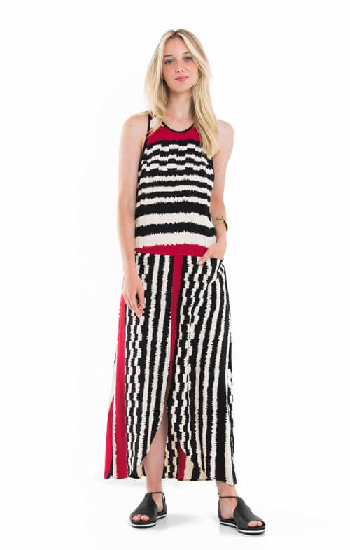 totem sierra maxi dress namibila red3