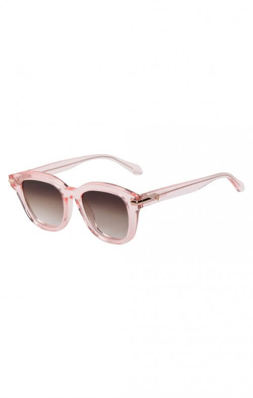 valley brake sunglasses crystal pink rose gold