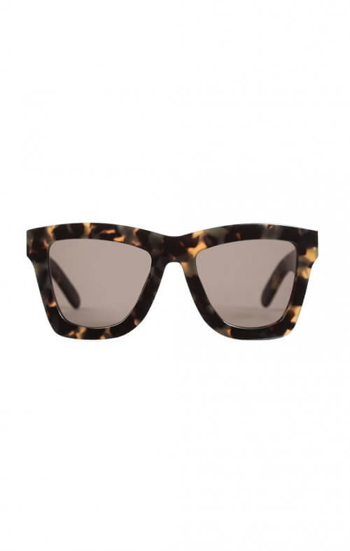 valley db sunglasses indio tortoise black lens