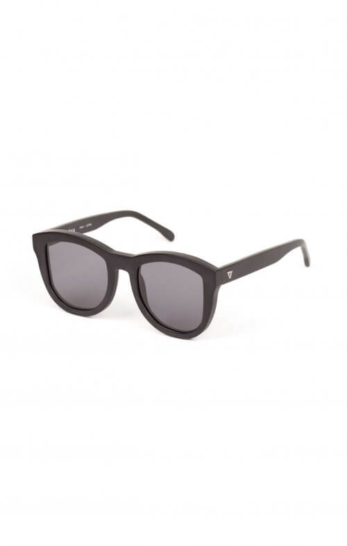 valley trachea sunglasses black matte