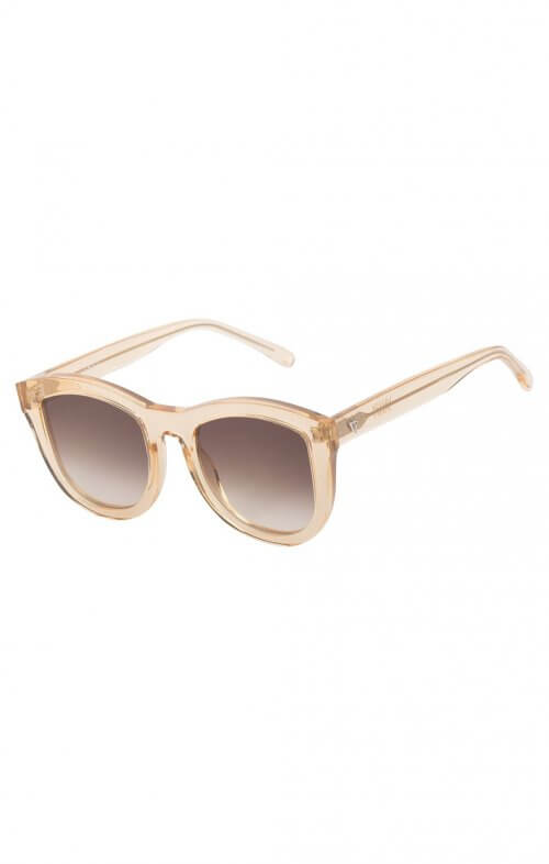 valley trachea sunglasses tangerine brown lens