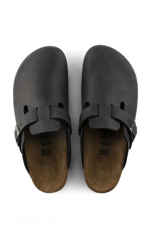 birkenstock boston oiled black3
