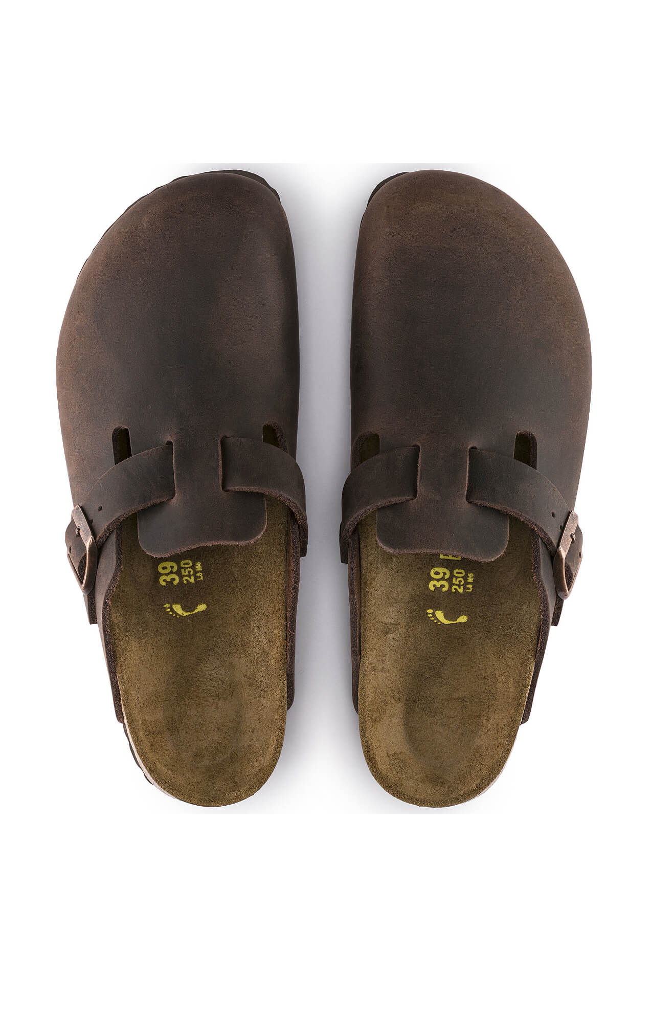 526923783415 Home   Shop   ACCESSORIES   SHOES   BIRKENSTOCK BOSTON OILED LEATHER HABANA  BROWN