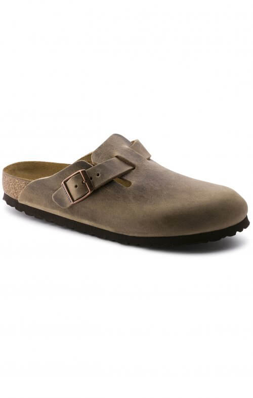 birkenstock boston oiled leather tobacco
