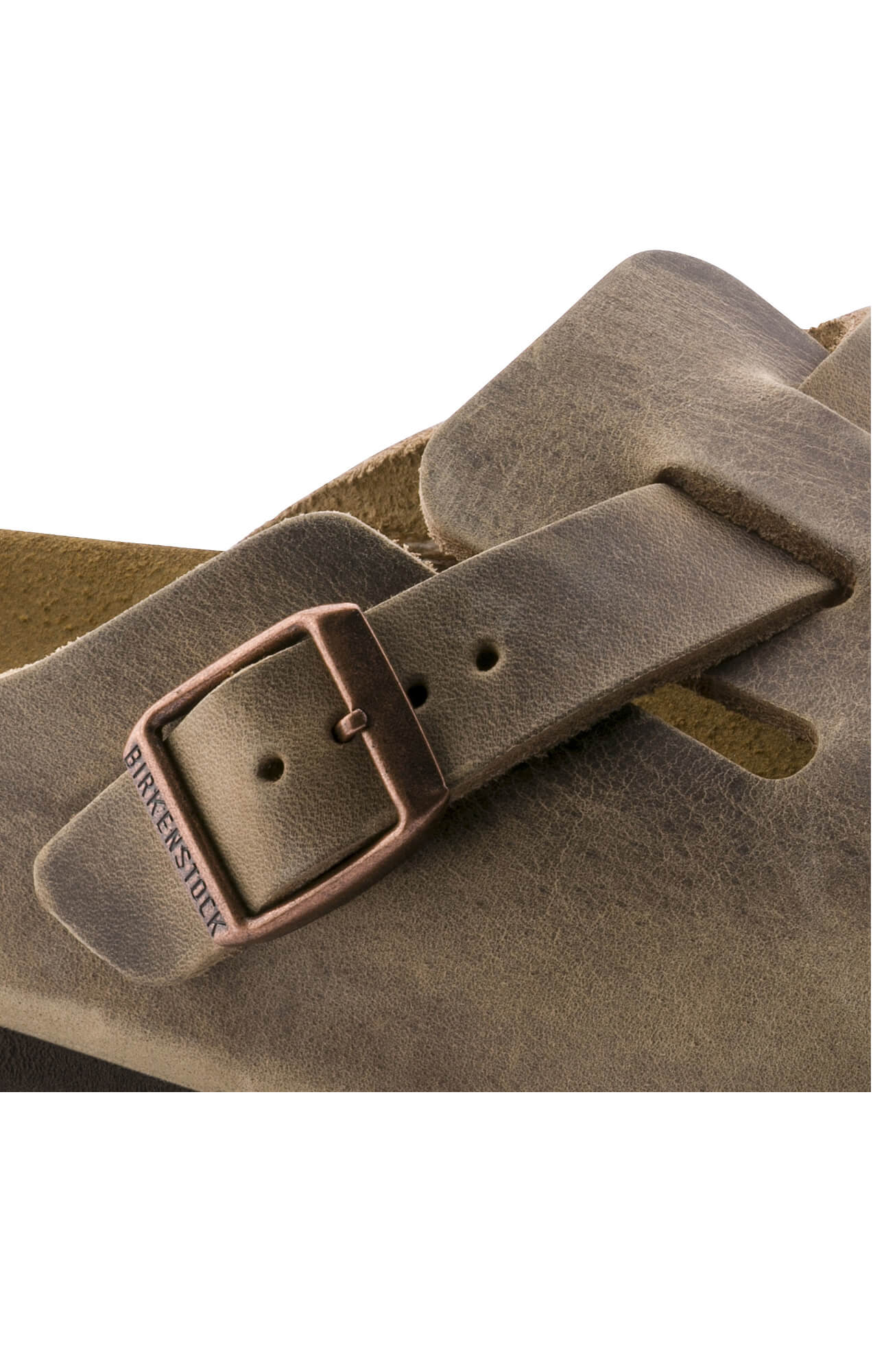 BIRKENSTOCK BOSTON OILED LEATHER TOBACCO | ENHANCE U