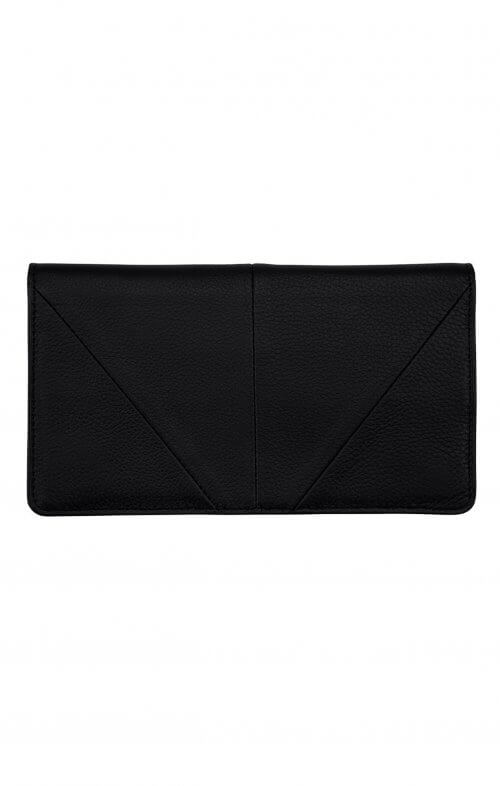 status anxiety wallet triple threat black