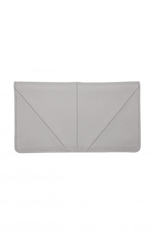 status anxiety wallet triple threat grey