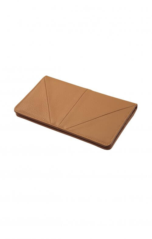 status anxiety triple threat wallet tan4