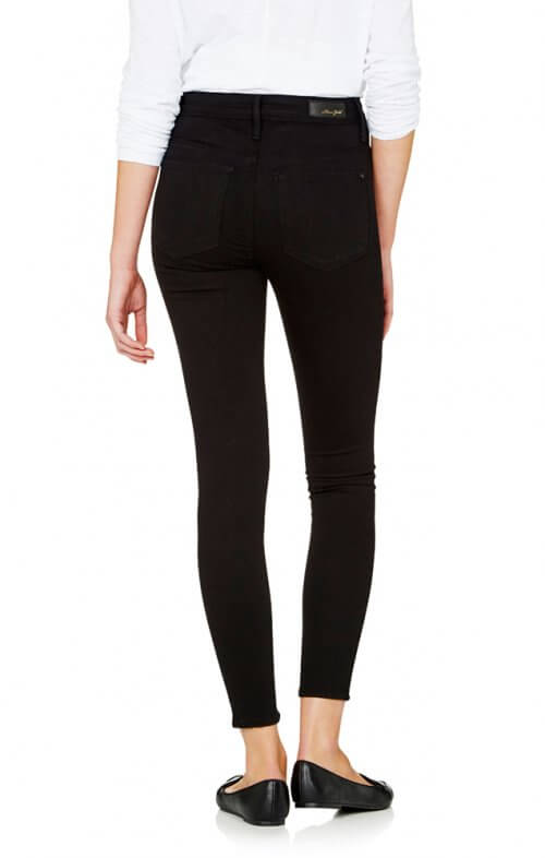 mavi alissa ankle jeans double black3