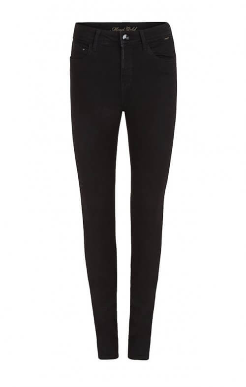 mavi alissa ankle jeans double black4