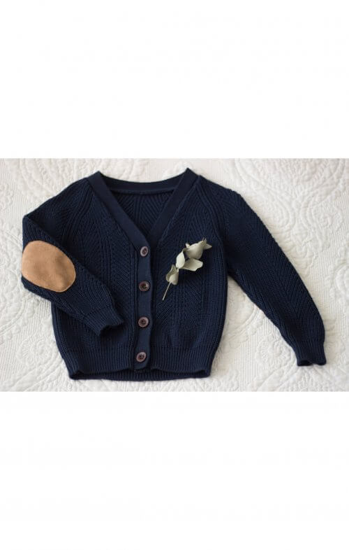 two darlings navy cardigan