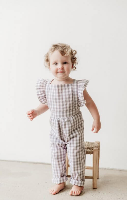 two darlings flutter overalls gingham grey1