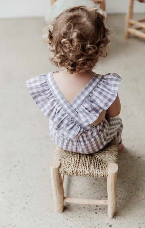 two darlings flutter overalls gingham grey5