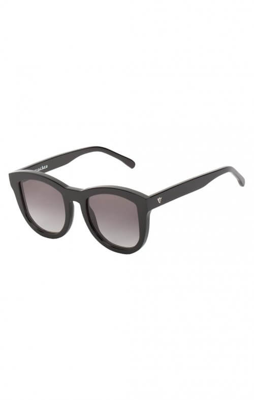 valley trachea sunglasses black gloss