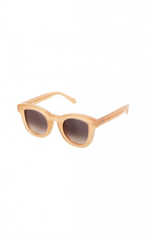 valley wolfgang sunglasses peach