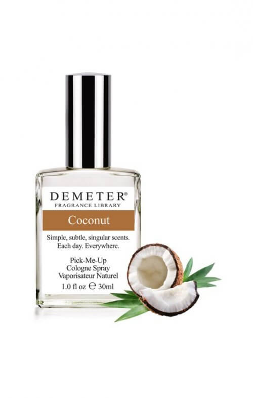 demeter coconut fragrance