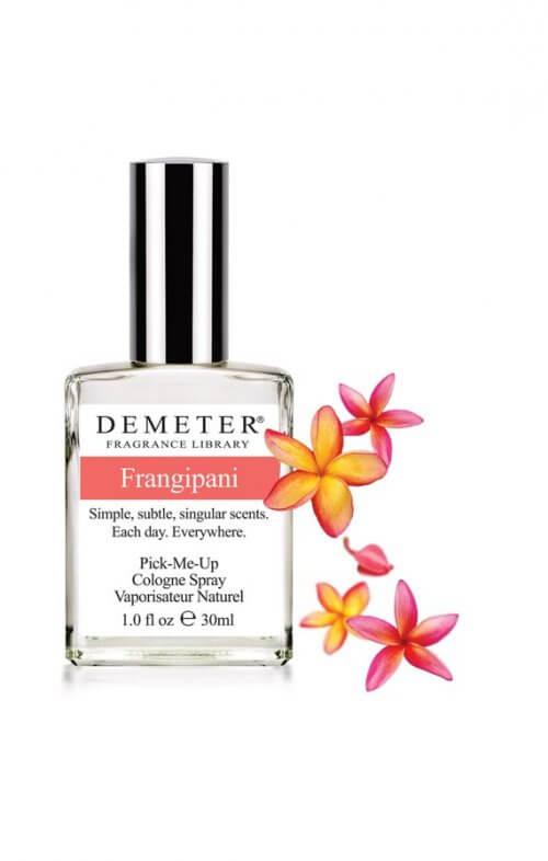 demeter frangipani fragrance